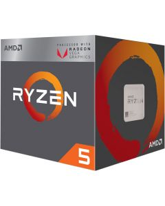AMD Ryzen 5 2400G Quad-core (4 Core) 3.60 GHz Processor - Retail Pack - 4 MB Cache - 3.90 GHz Overclocking Speed - 14 nm - Socket AM4