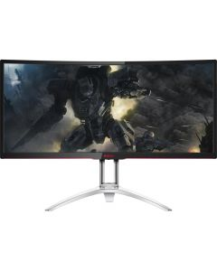 "AOC AGON 35"" 1800R Ultra WQHD 3440x1440 VA, NVIDIA G-SYNC, 120Hz, 4ms, Ultimate Curved Gaming Monitor"