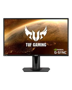 "ASUS TUF Gaming VG27BQ 27"" WQHD 2560 x 1440 2K Resolution 0.4ms 155Hz G-SYNC Widescreen Backlit LED Gaming Monitor"