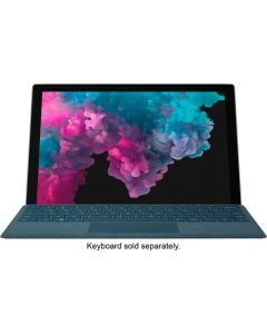 """Microsoft - Surface Pro 6 - 12.3"""" Touch-Screen - Intel Core i5 - 8GB Memory - 128GB Solid State Drive (Latest Model) - Platinum"""